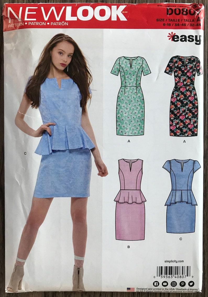 New Look New Look Pattern 6571 Misses/' Dresses