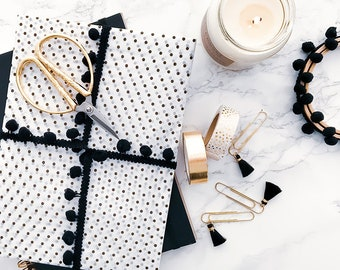 MOOD Subscription Box - Pre-order Black & Gold Box - Luxury subscription box for creatives - craft, stationery, lifestyle, art, decor