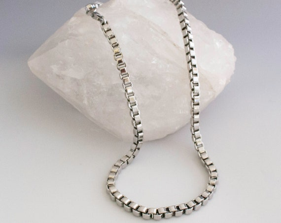 Mens 5.5mm Venetian Box Chain