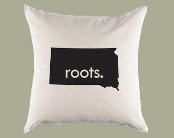 South Dakota Pillow Etsy