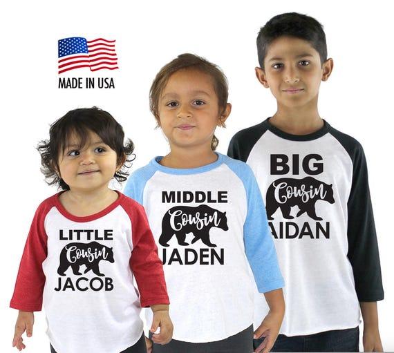 My Cousin in Hawaii Loves Me Toddler//Kids Raglan T-Shirt