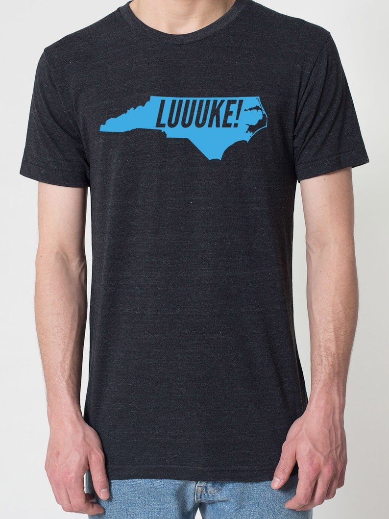 892ad1054 LUUUKE Bright BLUE Series Unisex North Carolina NC Luke | Etsy