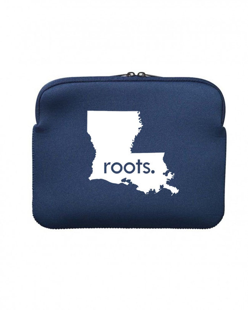 Tablet All States and Washington DC /'Roots/' or /'Made/' Neoprene Case Sleeve 10 inches iPad CLEARANCE