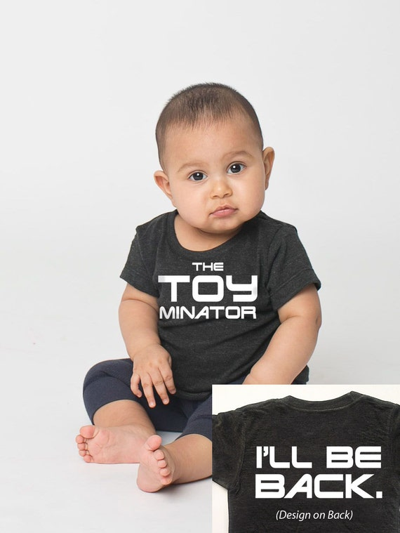 The TOYminator Funny Infant's T-shirt - 3 to 24 months