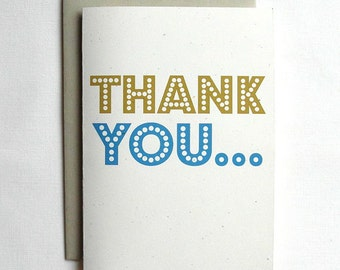 Thank You Card Funny Thank You...