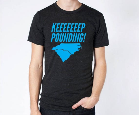a708ae63a Keep Pounding Carolina Panthers Luke Kuechly Bright BLUE | Etsy