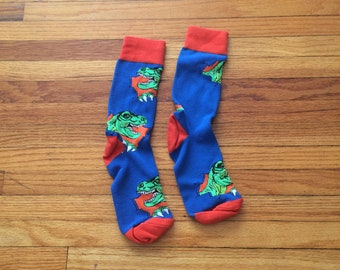 f76629b18 Unbranded Multicolored Tyrannosaurus Rex Colorful Dinosaur Socks (free  shipping)