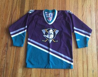 half off 4b98d 44ab9 Anaheim ducks jersey | Etsy