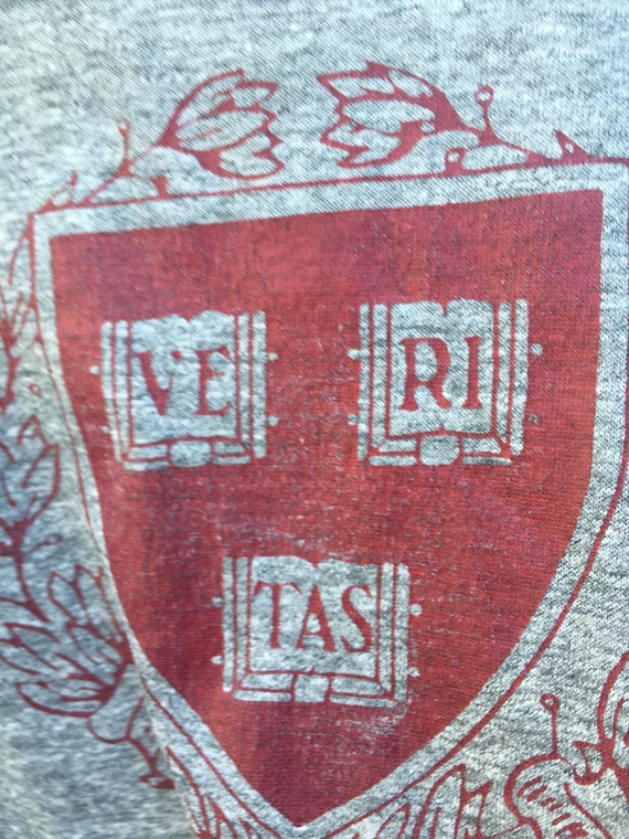 Vintage 1970's/1980's Harvard University Crest Pr… - image 4