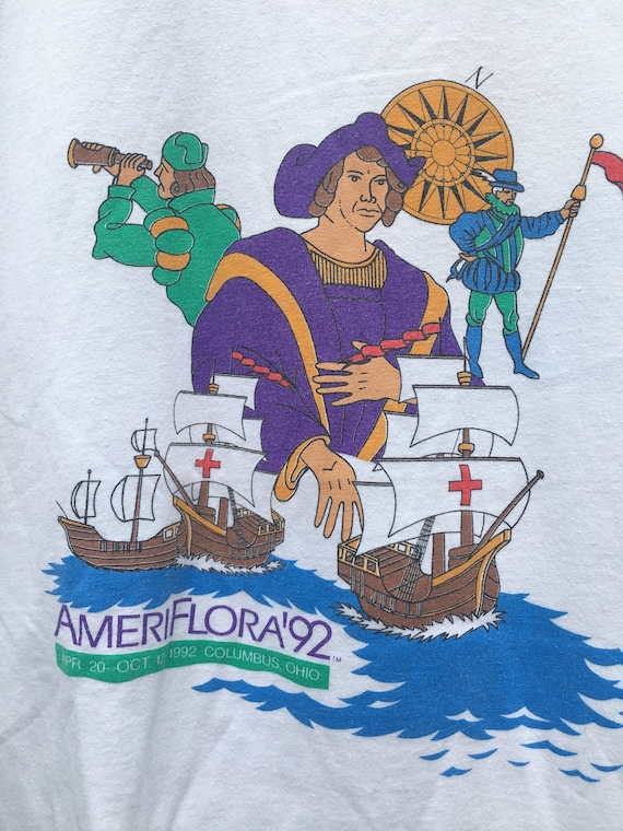 Vintage 90's Ameriflora 92' April 20-Oct 12 1992 … - image 3