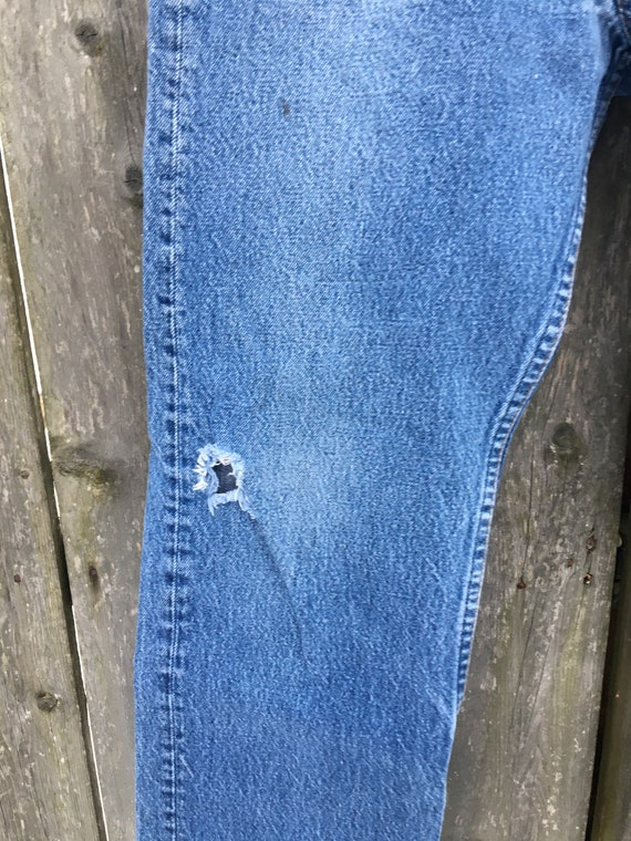 Vintage 90's Levi's 501 Button Fly Distressed Hig… - image 3