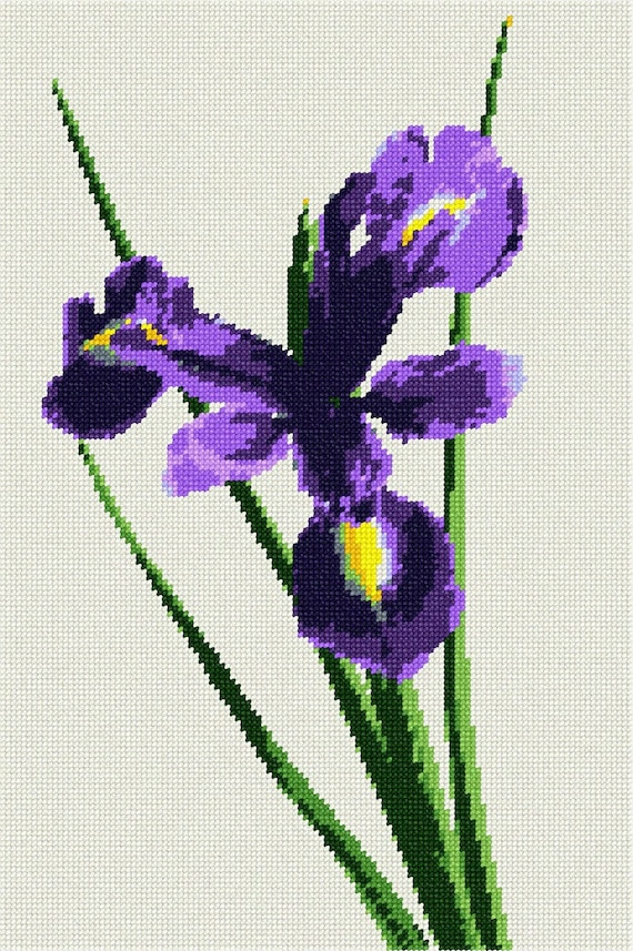 Clovers Needlepoint Kit or Canvas Floral//Flower//Nature