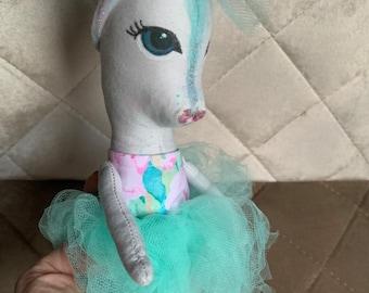 Heirloom Horse Doll