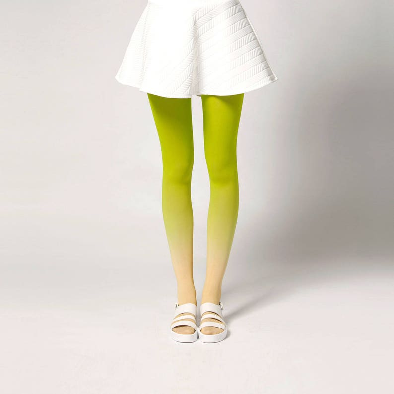 Ombré Tights in Fruits image 0