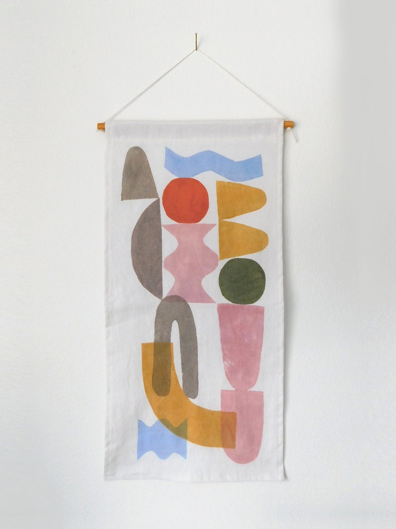 Block Printed Wall Hanging 'Neue' image 0