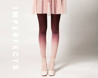 IMPERFECT, Ombré Tights in Clay