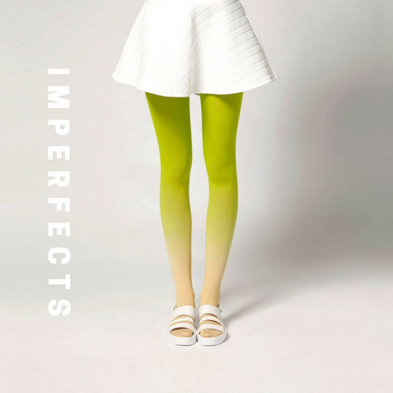 IMPERFECT Ombré Tights in Fruits image 0