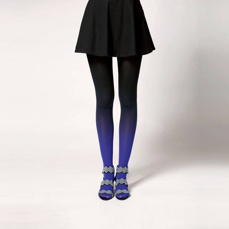 Ombré tights in Onyx image 0