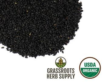 Organic Black Cumin Seed, Whole (Nigella sativa)