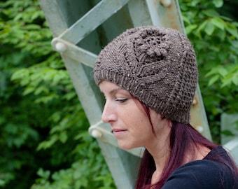 Knitting PATTERN Ode to Summer Hat // sport, dk, worsted and aran weight // newborn baby hat // children's hat // adult hat // teenager hat