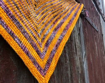 Dayspring Shawl Tunisian Crochet PATTERN