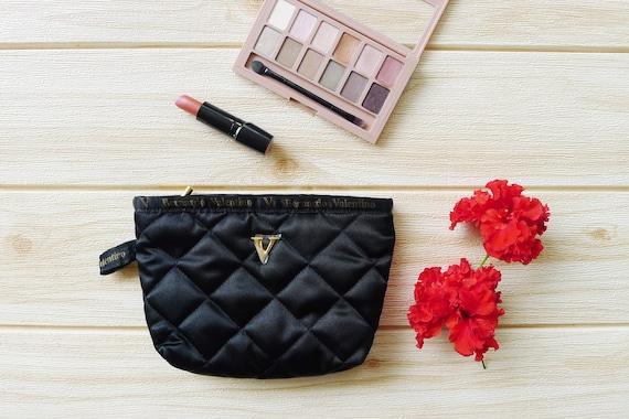 pastel clutch,makeup bag Tsumori Chisato Mermaid theme zipper Pouch cosmatic bag pencil purse Sea Shell and wave printed,vaporwave,zakka