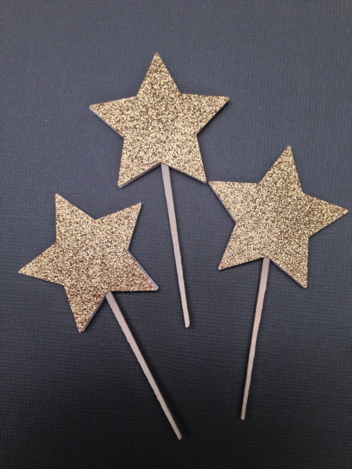 12 Star Cupcake Toppers Twinkle Twinkle Little Star Baby ...