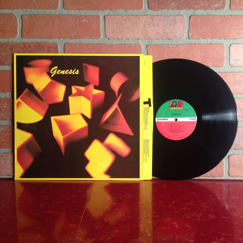 Genesis Self Titled Vinyl Record Album LP 1983 Phil Collins New Wave  Progressive Pop Rock Music Vintage