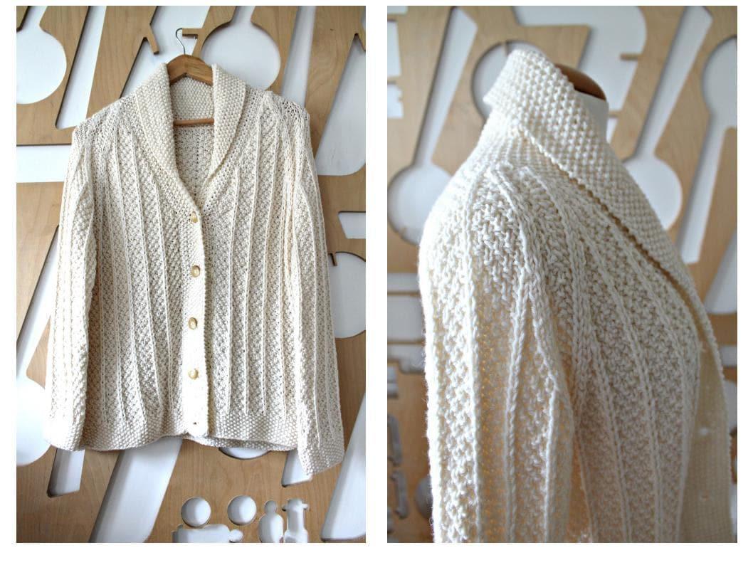 Rebeca Merino Chunky knit irlandeses suéter de lana de punto | Etsy