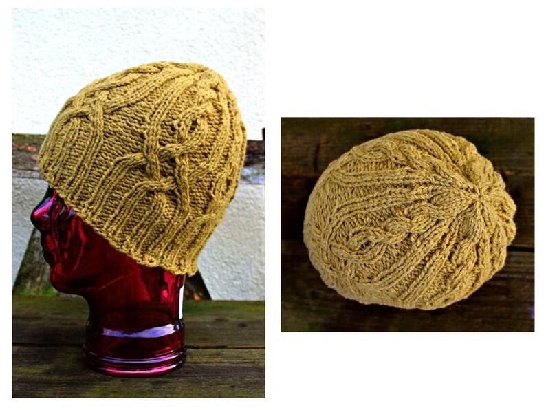ef565ecb3 Wool hat Knit hat Unisex knit hat Aran hat Knitted hat Irish hat Wool  beanie Ski hat Celtic knot Head wear Hipster Grunge Boho Hippie Preppy