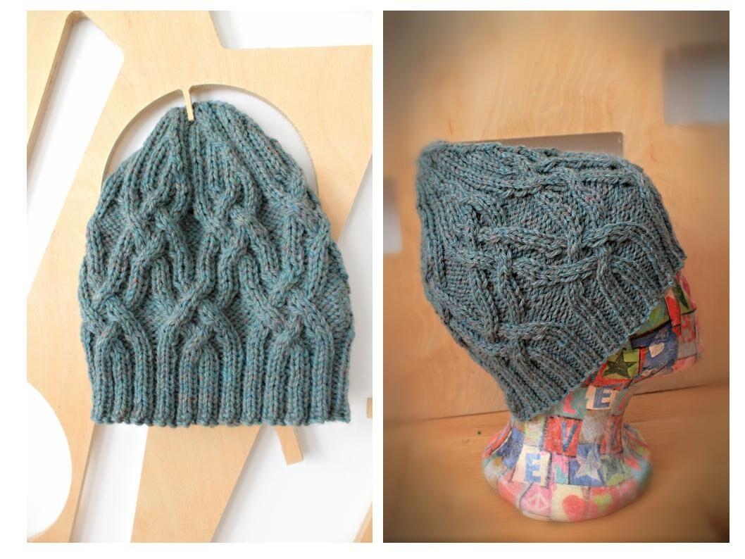 17c9f267a Wool hat Knit wool hat Beanie hat Winter wool hat Bohemian hat Unisex hat  Knit hat beanie Knit wool beanie Small size Aran wool Wool toque