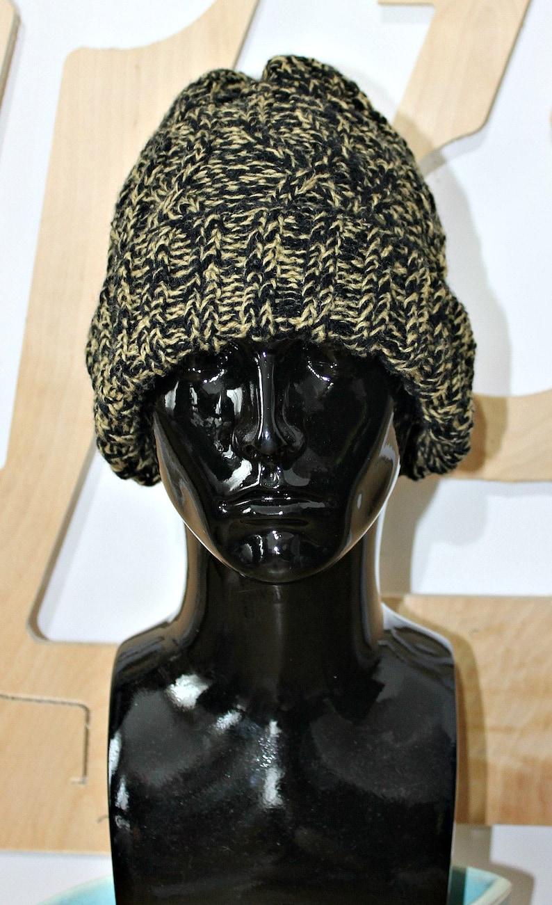 e96c15a18 Wool hat Unisex Festival Celtic Chunky knit Boho Aran Gift Made in Ireland  Aran jumper Fisherman's hat Irish sweater Aran Personalised Gift