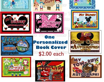 One Personalized Book Cover for your Autograph Book