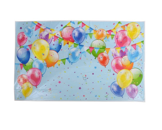 Balloons 72 Personalised Christmas Birthday Present Labels Stickers