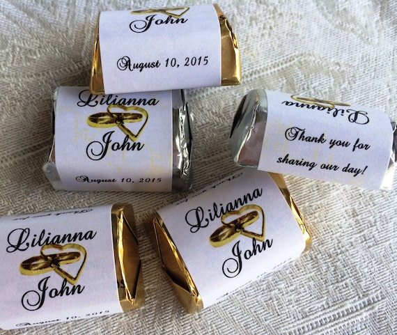 150 Personalized Class of 2019 Graduation Candy Hershey Nugget Labels Wrappers