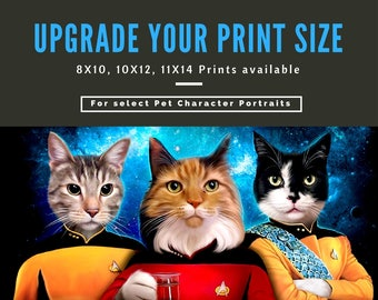 Upgrade Your Print Size -From 8x10 to 10x12 or 11x14