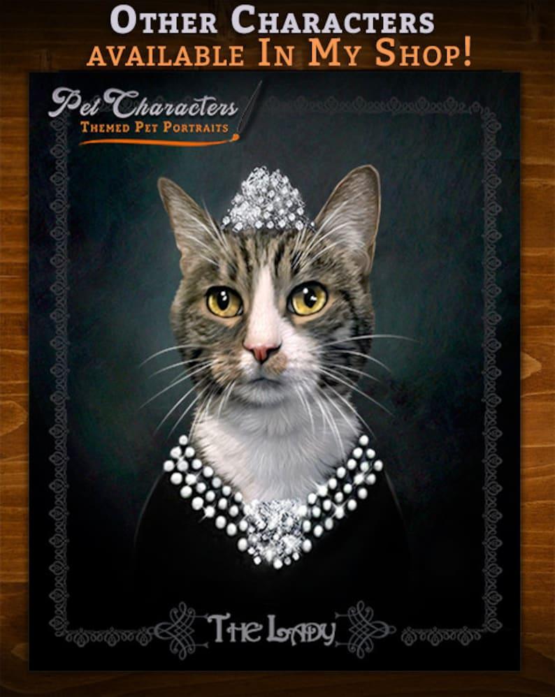 dog lover Gift pet lover Pet art Unique pet gift Pet prints Pirate Pet Portrait art cat lover Personalized Gift Custom pet portrait