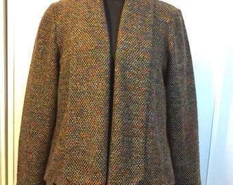 6f58061a2 Tweed sweater jacket