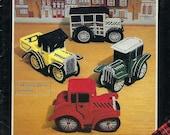 Vintage Autos Plastic Canvas Pattern Book, Plaid Enterprises 7675