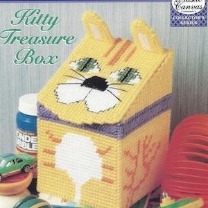 Jewelry Box Picture Frame Plastic Canvas Pattern Gilded Treasures Accessories Treasure Box Fan Box