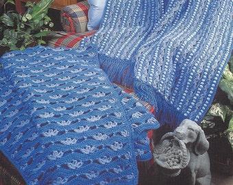 Annie/'s crochet pattern Golden Siesta Afghan