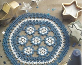 Lace Star Doily Crochet Pattern - Starry Night - House of White Birches - Centerpiece, Kitchen Table Decor, Doilies Lace Crochet, Home Decor