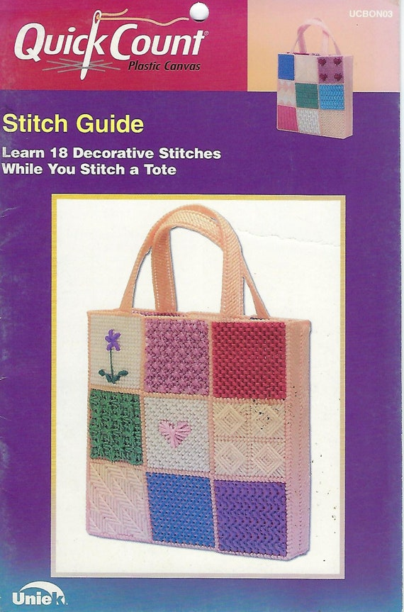 Taos Totebag Indian NEW Annie/'s Plastic Canvas Pattern Leaflet