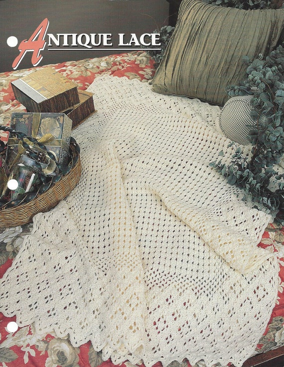 Annie/'s crochet pattern ~ hooks-only design Star Bright Afghan