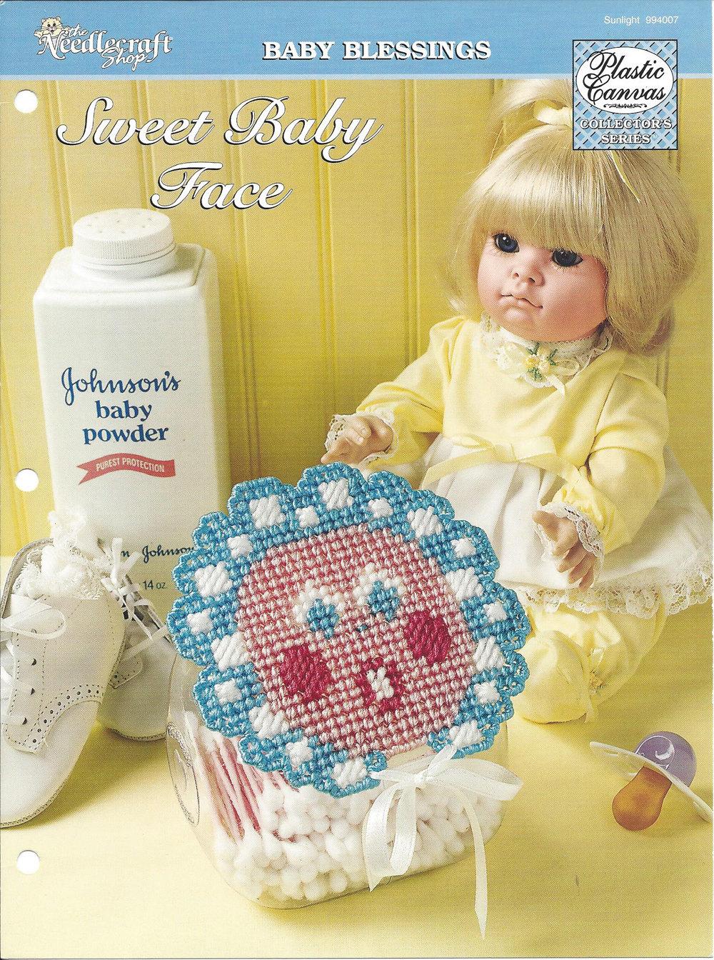 Sweet Baby Face Plastic Canvas Pattern Nursery Babys Etsy