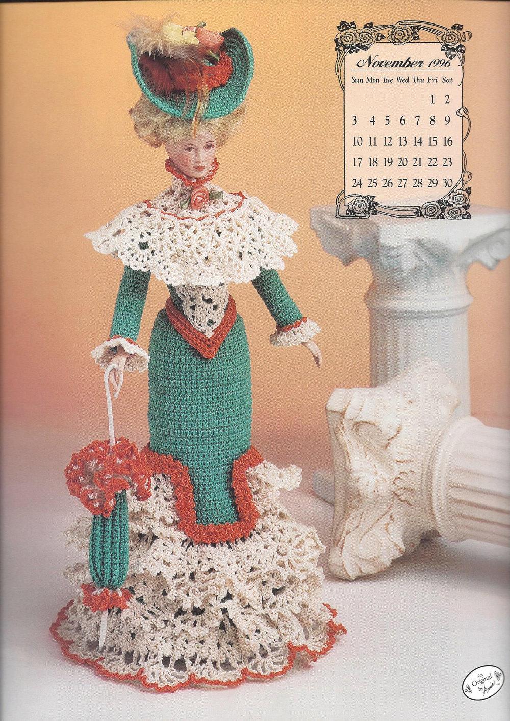 Miss November 1996 Promenade Costume Crochet Pattern Annies