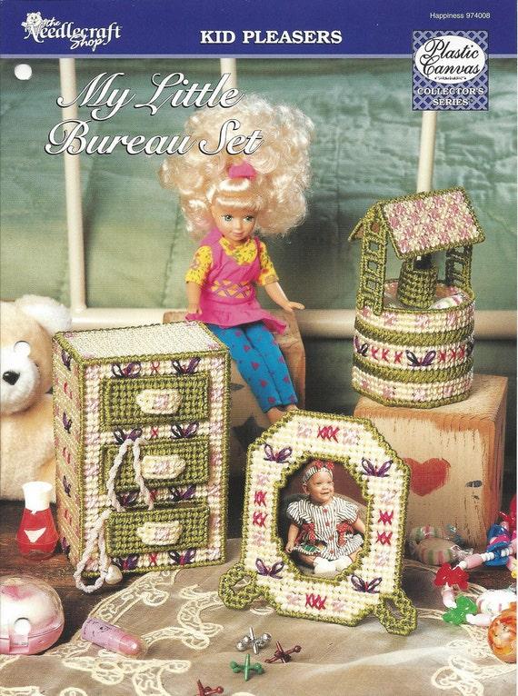 The Needlecraft Shop Jewelry Box Decorative Trinket Candy Box Valentine Gift Box Plastic Canvas Pattern