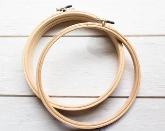 Edmunds Wood Embroidery Hoop 5in