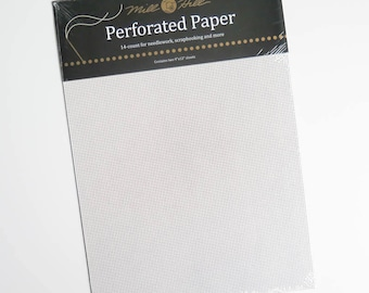 Perforated Paper for Cross Stitch   14 ct Stiff Paper for Counted Cross Stitch Projects Bookmarks, Ornaments, Scrapbooking, Greeting Cards