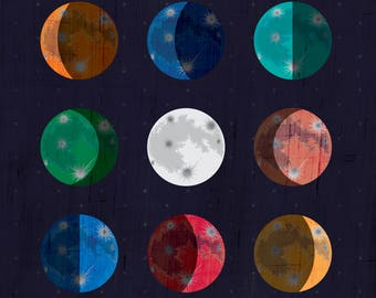 Galileo Galilei Quote / Science Quote / It Is A Most Beautiful and Delightful Sight to Behold the Body of the Moon.